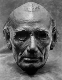 Life Mask of Abraham Lincoln
