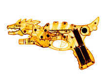 X-ray of a Toy Ray Gun 03