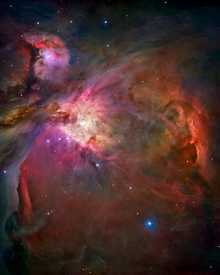 Orion nebula (NASA/JPL - Caltech)