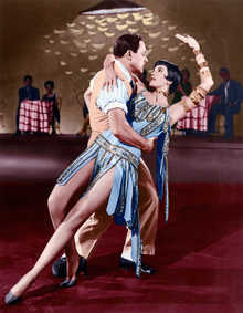 Don Lockwood (Gene Kelly) und Tänzerin (Cyd Charisse)