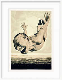 The Grassland Series, Diving Figure